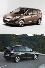 Renault auf dem Genfer Automobilsalon 2009 - Vier neue Modelle für die Mégane-Familie