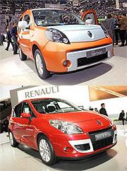 Renault mit vier Premieren