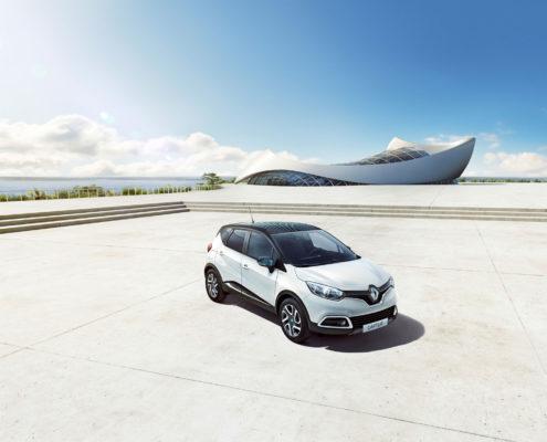"""Renault Captur """"Crossborder"""" bietet edle Optik und Top-Komfort"""