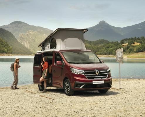 Renault Trafic Spacenomad. Foto: Autoren-Union Mobilität/Renault